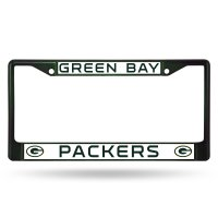 Green Bay Packers Anodized Green License Plate Frame