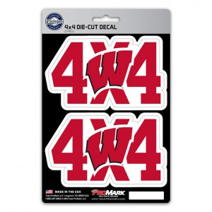 Wisconsin Badgers 4x4 Decal Pack