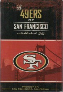 San Francisco 49ers Fridge Magnet