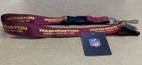 Washington Football Team Lanyard With Neck Safety Latch