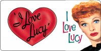 I Love Lucy #4 Photo License Plate