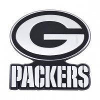 Green Bay Packers 3-D Metal Auto Emblem