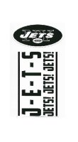 New York Jets Double Up Die Cut Vinyl Stickers
