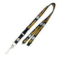 Pittsburgh Steelers Lanyard With Neck Safety Latch