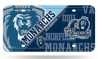 Old Dominion Monarchs Metal License Plate