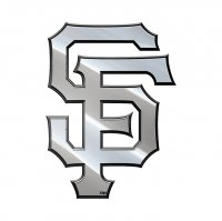 San Francisco Giants Metal MLB Auto Emblem