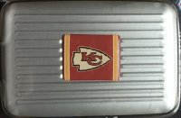 Kansas City Chiefs Aluminum Wallet