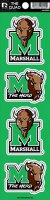 Marshall The Herd Quad Decal Set