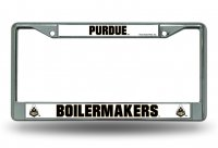 Purdue Boilermakers Chrome License Plate Frame
