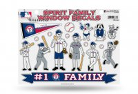 Texas Rangers Family Decal Set