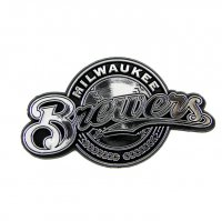 Milwaukee Brewers MLB Auto Emblem