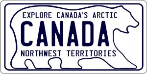 Explore Canada's Arctic Photo License Plate
