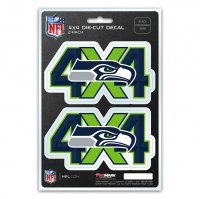 Seattle Seahawks 4x4 Decal Pack