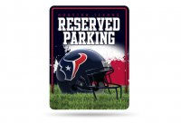 Houston Texans Metal Parking Sign