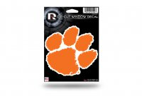 Clemson Tigers Die Cut Vinyl Decal