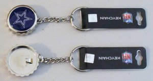 DALLAS COWBOYS Bottle Cap Key Chain