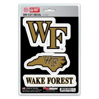 Wake Forest Demon Deacons Team Decal Set