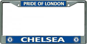Chelsea F.C. Pride Of London Chrome License Plate Frame [LPO3352]