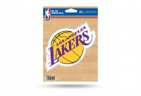 Los Angeles Lakers Die Cut Vinyl Decal