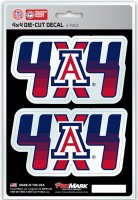 Arizona Wildcats 4x4 Decal Pack