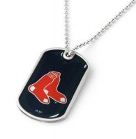 Boston Red Sox Domed Dog Tag