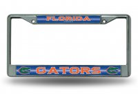 Florida Gators Glitter Chrome License Plate Frame