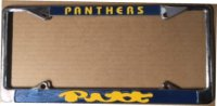 Pittsburgh Panthers Chrome License Plate Frame