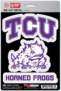 Texas Christian Horned Frogs Team Decal Set