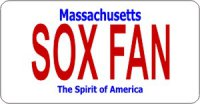 Design It Yourself Massachusetts State Look-Alike Bicycle Plate