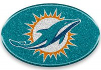 Miami Dolphins Color Bling Emblem