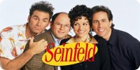 Seinfeld Cast Photo License Plate