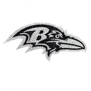Baltimore Ravens Diamond Bling Auto Emblem
