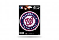Washington Nationals Glitter Die Cut Vinyl Decal