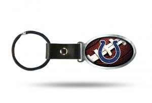 Indianapolis Colts Accent Metal Key Chain