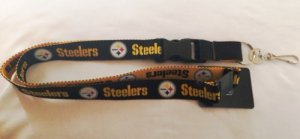 Pittsburgh Steelers Two Tone Lanyard With Safety Latch