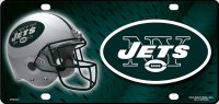 New York Jets Metal License Plate