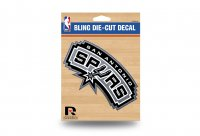 San Antonio Spurs Glitter Die Cut Vinyl Decal