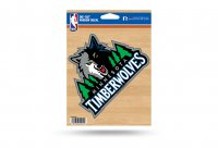Minnesota Timberwolves Die Cut Vinyl Decal