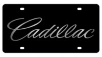 Cadillac Laser Cut License Plate
