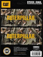 Caterpillar Camo Stick Onz Decal Set