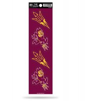 Arizona State Sun Devils Quad Decal Set