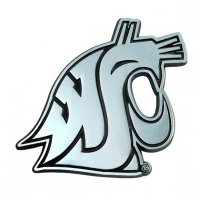 Washington State Cougars 3-D Metal Auto Emblem