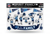 Tennessee Titans Family Decal Set