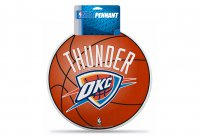 Oklahoma City Thunder Die Cut Pennant
