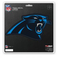 Carolina Panthers 8X8 Die Cut Team Decal