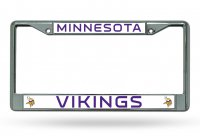 Minnesota Vikings Chrome License Plate Frame