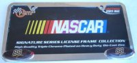 Dale Jarrett NASCAR Chrome License Frame