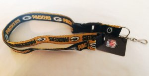 Green Bay Packers Two Tone Lanyard With Safety Latch