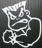 "Bad Boy 4"" x 4"" Decal"