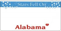 Design It Yourself Alabama State Look-Alike Bicycle Plate #3